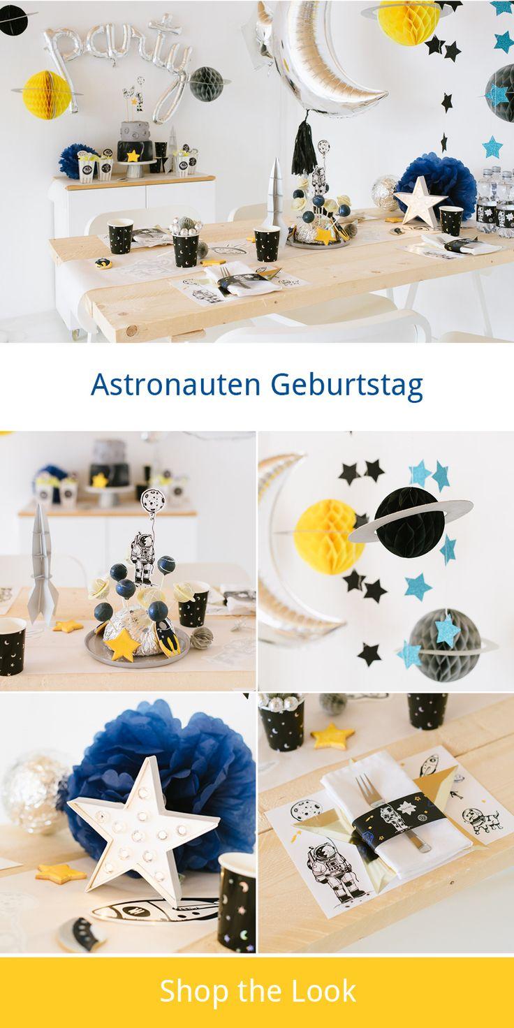 Beam me up! Astronauten und Weltraum Kindergeburtstag http://www.fraeulein-k-sagt-ja.de/?p=45809