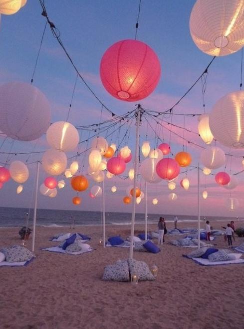 <3 Evening Beach Party <3 pretty!!