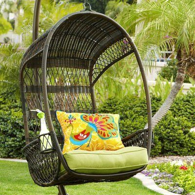 48 best images about hanging chairs i want on pinterest papasan chair swing chairs and - Pier one peacock chair ...
