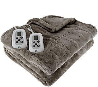 Serta Perfect Sleeper KG Plush Heated Blanket