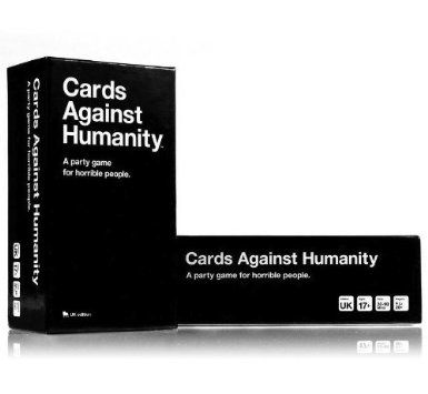 Cards Against Humanity: UK edition: Amazon.co.uk. I keep hearing that this game is freakin hilarious, must have it :)