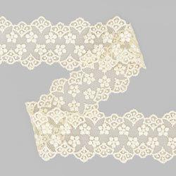 Encaje de tul Inserto (55 mm) 2 – crema