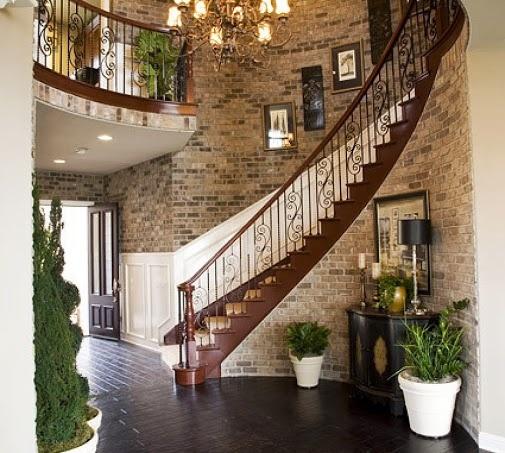 de casa madera elegantes barandales cuadros decorativos decorado edficios inusuales lugares inusuales escaleras escaleras originales