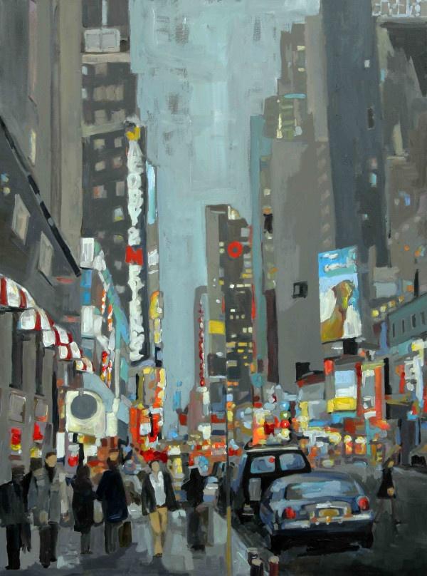 """NYC Corner"": Leslie Graff"