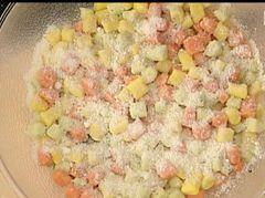 Cuochi per caso...o per forza!!: Gnocchi colorati cicorietta e pancetta di Alessand...