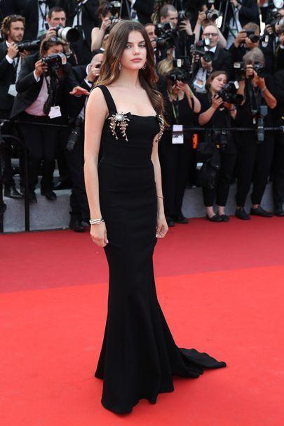 Cannes Film Festival 2017 | British Vogue - Sonia Ben Ammar in Dolce & Gabbana.