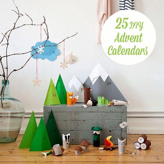 25 Beautiful DIY Advent Calendars