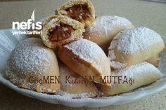 Margarinsiz Elmalı Kurabiye - Nefis Yemek Tarifleri