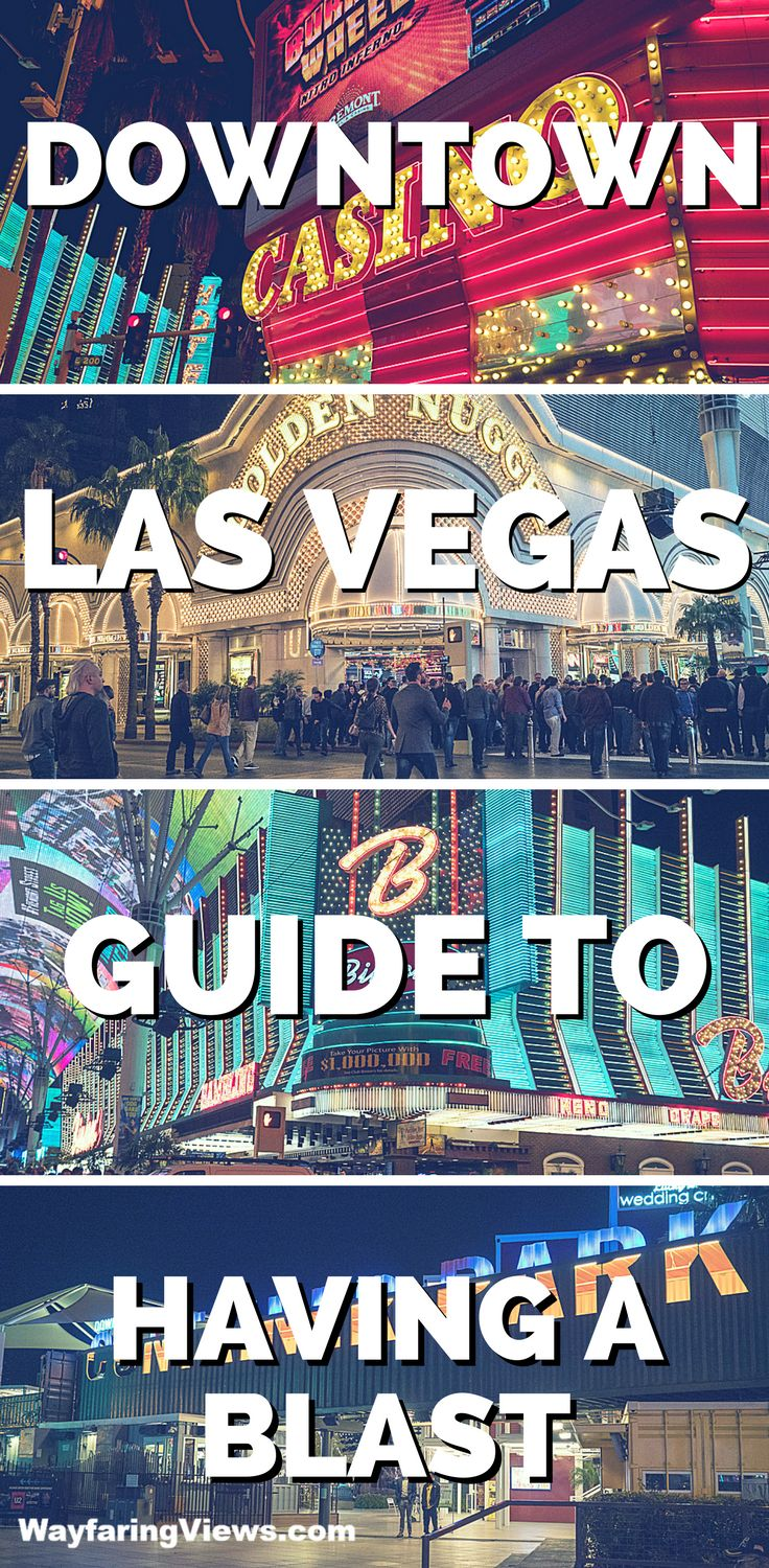 Have a blast with this epic guide for things to do in Downtown Las Vegas. Downtown is retro, affordable and fun. #lasvegas #travel | Things to do in Las Vegas Nevada | Las Vegas travel tips | Downtown Las Vegas restaurants, hotels & attractions | Fremont Street Experience | Cheap fun in Las Vegas