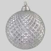 70mm Silver Pineapple ball  Code; BADE007SIPIAPPS