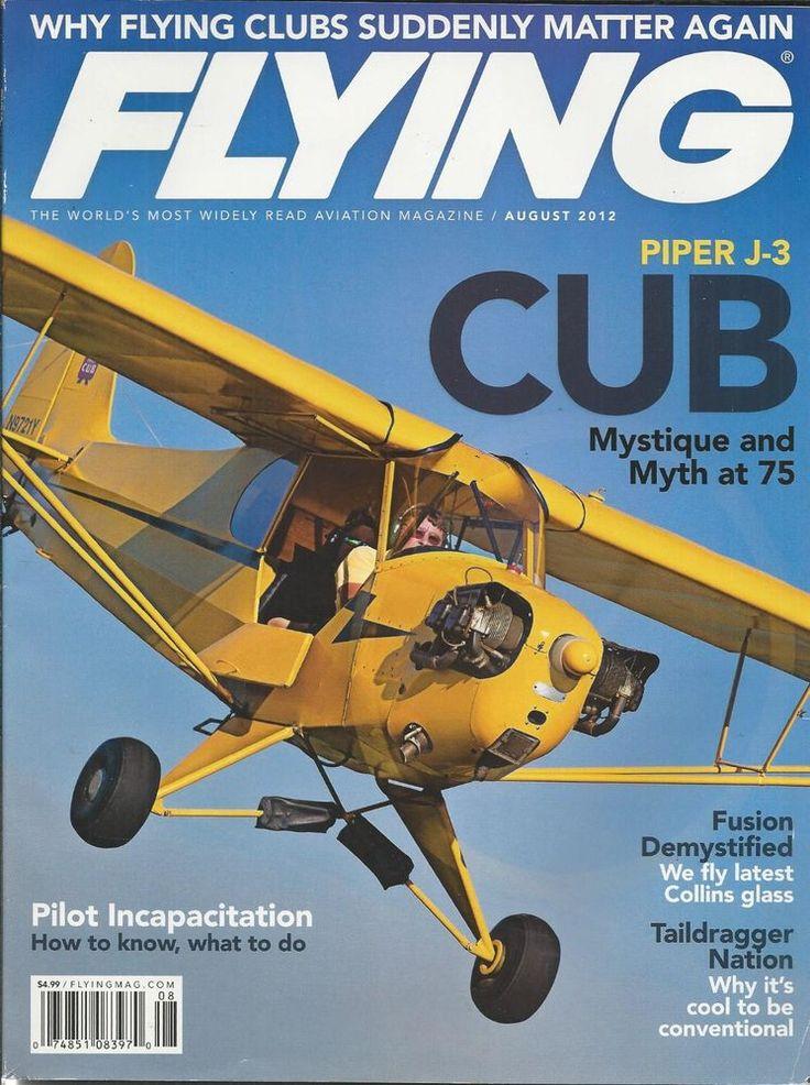Flying magazine Piper cub Fusion Taildragger Clubs Pilot incapacitation tips
