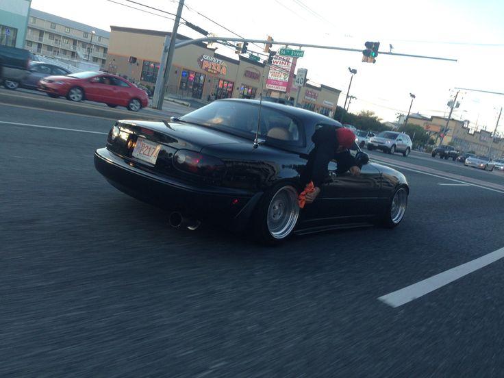 NA Mazda Miata Wheel Polishing by Pssst