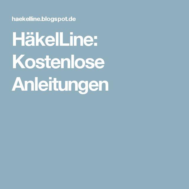 HäkelLine: Kostenlose Anleitungen