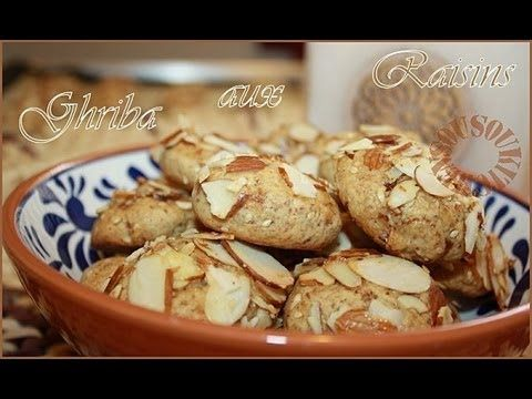 Ghriba aux Raisins / Cookies with Raisins 2-Sousoukitchen