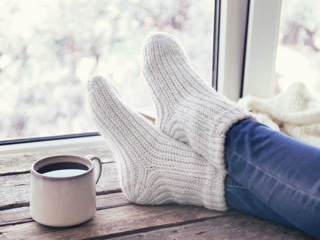 Efektivní léčba chřipky. Vsaďte na mokré ponožky