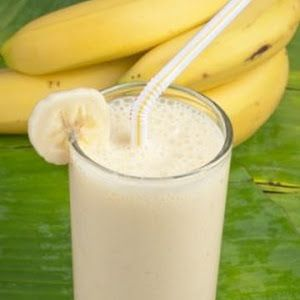Biggest Loser Banana Breakfast Smoothie With Bananas, Skim Milk, Nonfat Vanilla Yogurt, Pineapple Juice, Honey