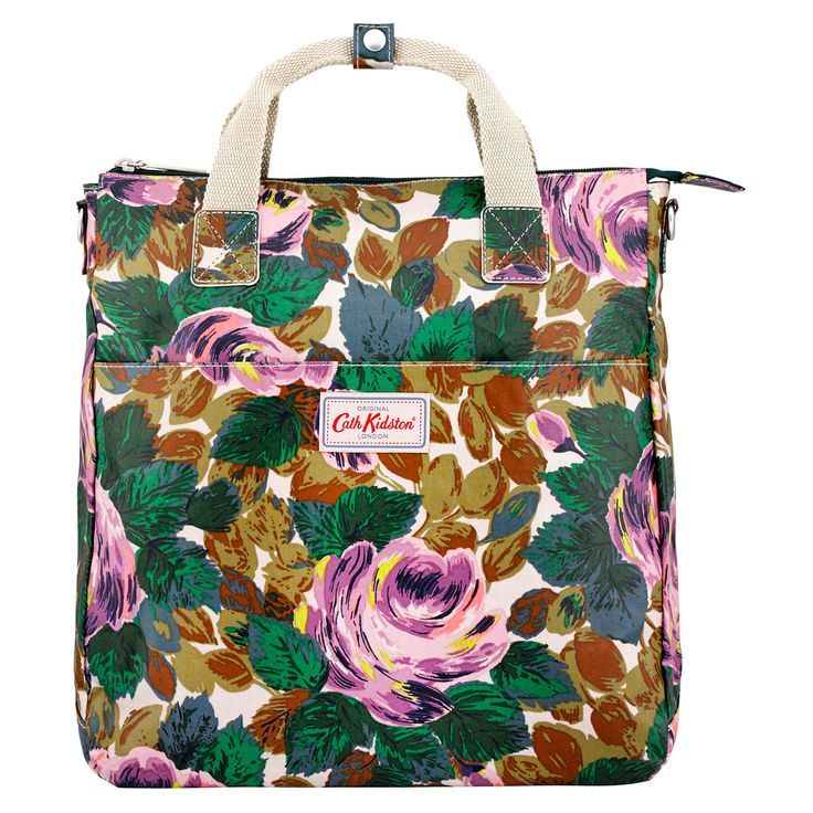 Oxford Rose Padded Backpack | Cath Kidston |