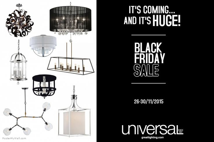 Our annual Black Friday Sale is almost here, and it's going to be HUGE! For massive savings come visit us between Nov. 26-30, 2015
