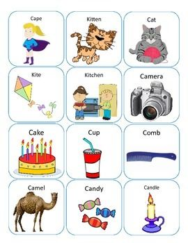 FREE K AND G ARTICULATION ACTIVITIES - TeachersPayTeachers.com