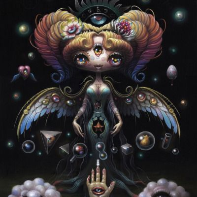 Yoko D'Holbachie: The Alchemist  Last Rites is excited to present our next solo exhibition by artist Yoko D'Holbachie. Opening reception will be held on July 9th at 6pm. (Last Rites Tattoo Theatre)