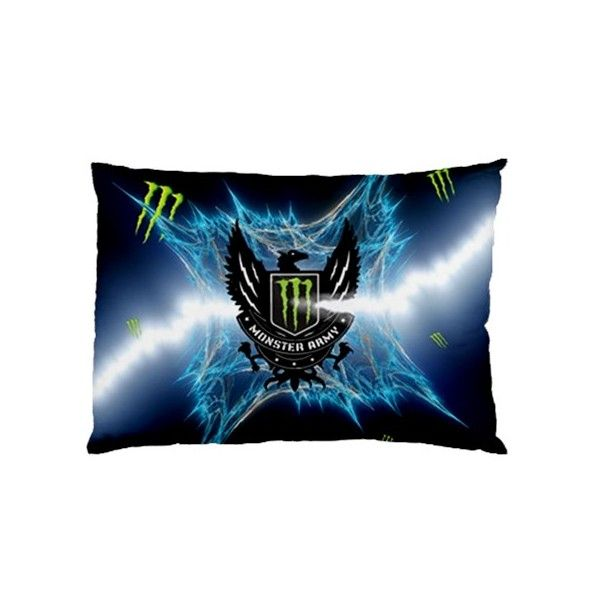 Monster Energy Rectangle Pillow Cases comfortable to sleep code ME1106