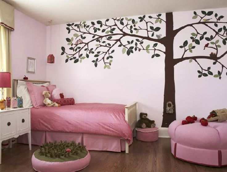 Bedroom Addition Design Ideas Bedroom Design In Pink Theme with Awesome Interior painting and Bedroom Tree Decorating Ideas Worth Stealing Bedcover Little Girls Pink Bedroom Design for Girls Beautiful and Simple
