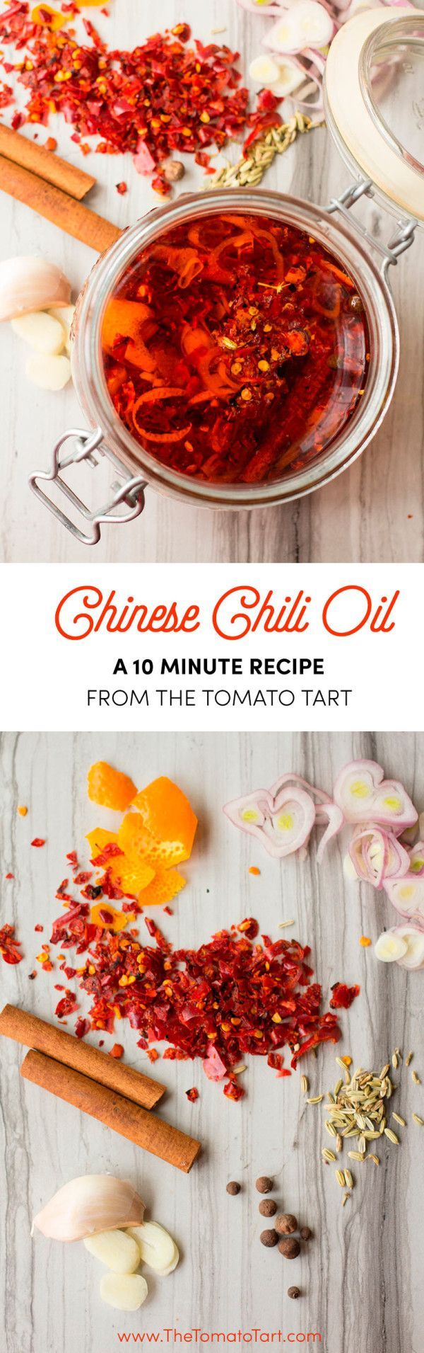 Homemade Chinese Chili Oil. Way better than the store bought stuff!