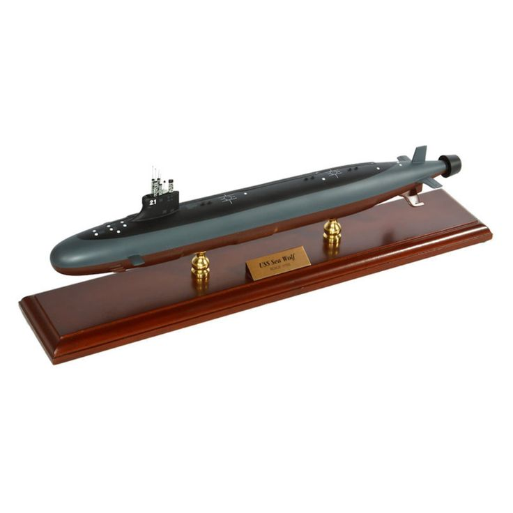 Daron Worldwide General Dynamics Electric Boat Seawolf Class Submarine 1/192 Scale Model Boat - MBSSC1