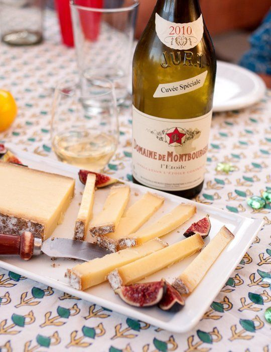 I have wonderful memories of eating Comté cheese last week in Paris. A very kind bistro owner kept bringing me more after seeing my enthusiastic reaction. Now firmly my favourite cheese!
