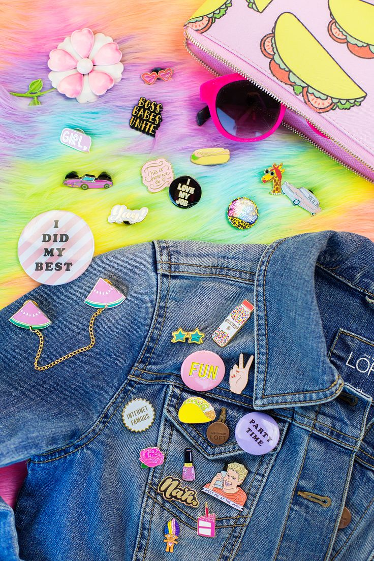 Personalize your jean jacket with a little flair!