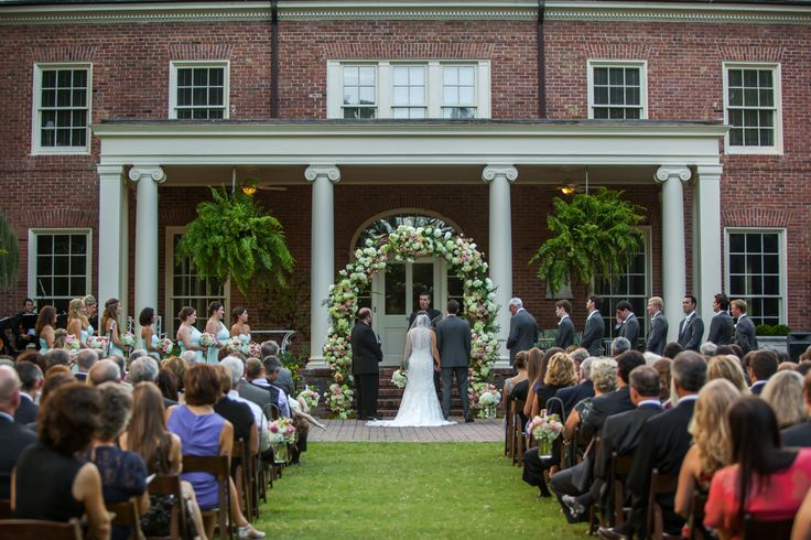 Lovely Ceremony For Mallory And Sam At The Dixon Gallery Amp Gardens By Southern Event Planners