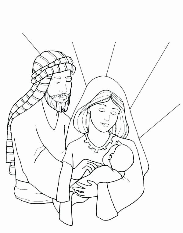 Holy Family Coloring Page Elegant The Best Free Holy Drawing