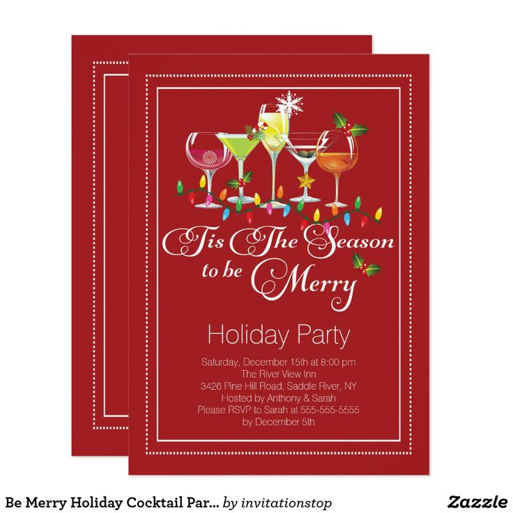 The 25+ best Cocktail party invitation ideas on Pinterest - holiday party invitation