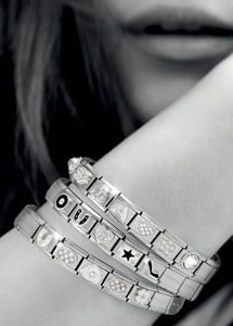 "Nomination Charm Bracelets. R u a silver shine fan or more a ""golden girl""? #nominationality"