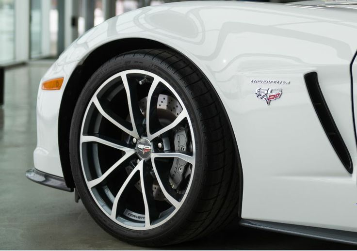 The 60th Anniversary and Lingenfelter Performance emblem.