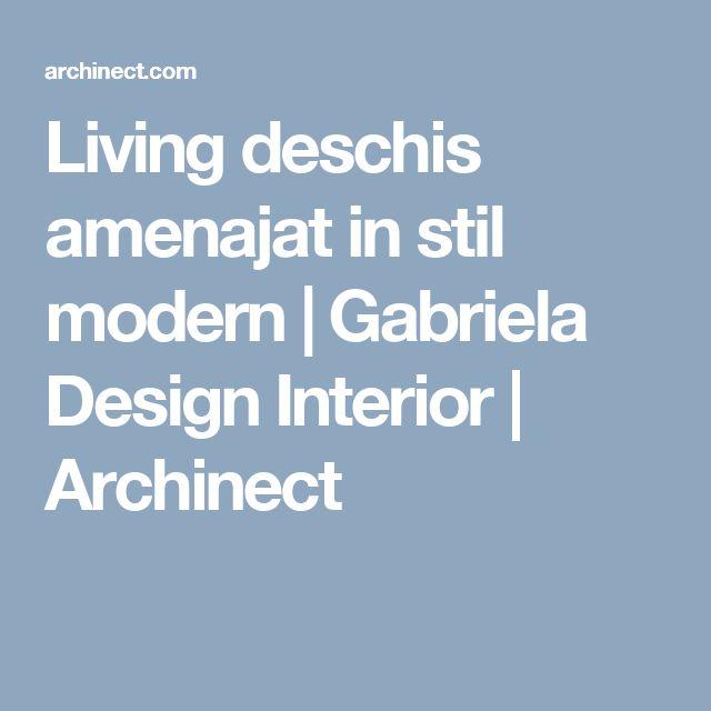 Living deschis amenajat in stil modern | Gabriela Design Interior