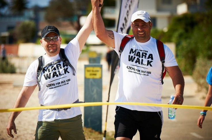 Join the heroes helping to raise money for TLC for kids by doing the Marawalk!