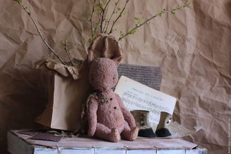 Купить Зайка тедди весенний - коралловый, пудровый, зайка тедди, кролик тедди, Пасха