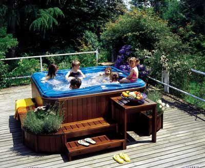 las 25 mejores ideas sobre jacuzzis de patio trasero en