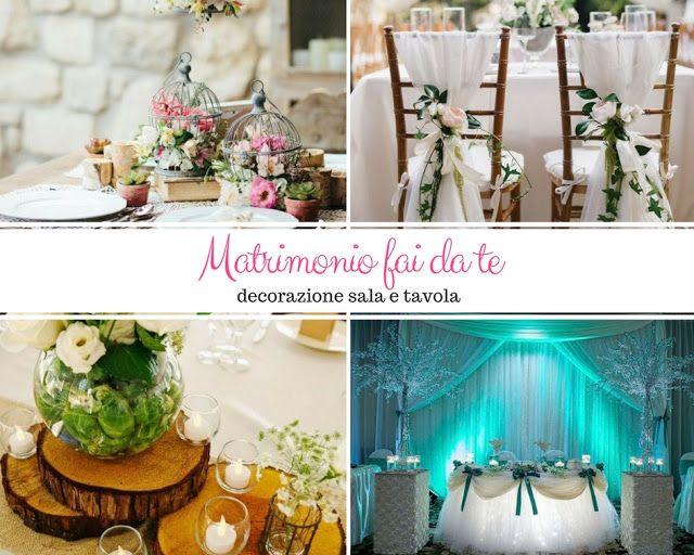 Decorazioni Sala Natale : Decorazione sala e tavola per un matrimonio fai da te kreattiva