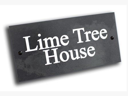 Slate House Signs, House Name Signs | Abode House Signs http://www.abodehousesigns.co.uk/housesigns/slate-house-signs.aspx