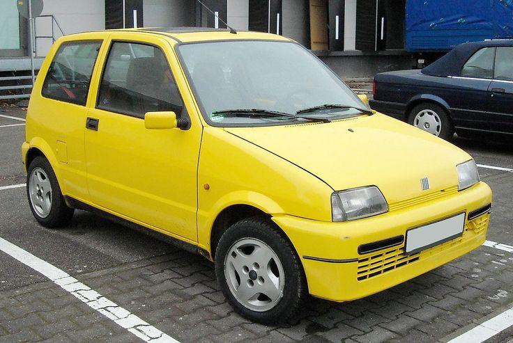 Fiat Cinquecento Sporting front 20081125 - Fiat Cinquecento - Wikipedia