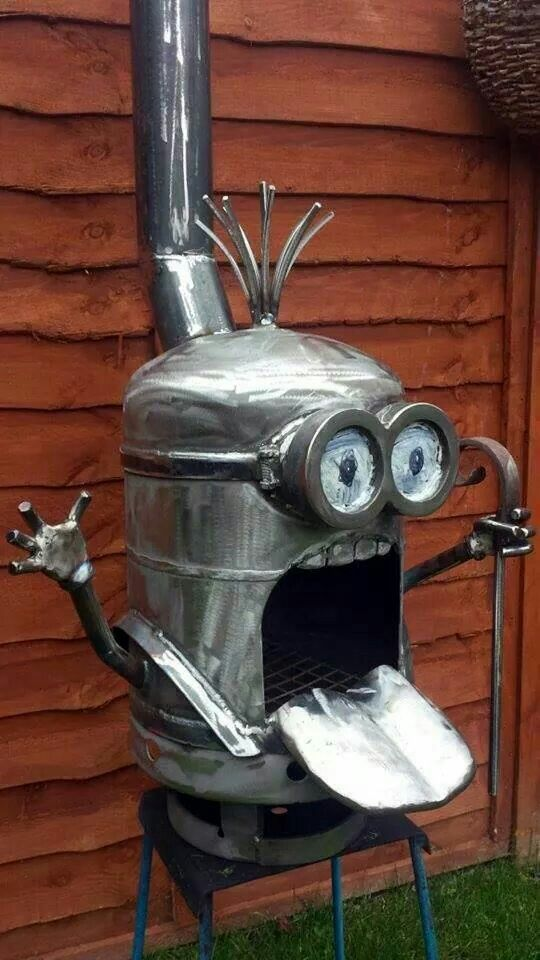 #Minion BBQ Grill
