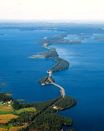 Päijännettä pohjoiseen - -Pulkkilanharju, Asikkala / Towards north of Lake Päijänne, in Pulkkilanharju, Asikkala.