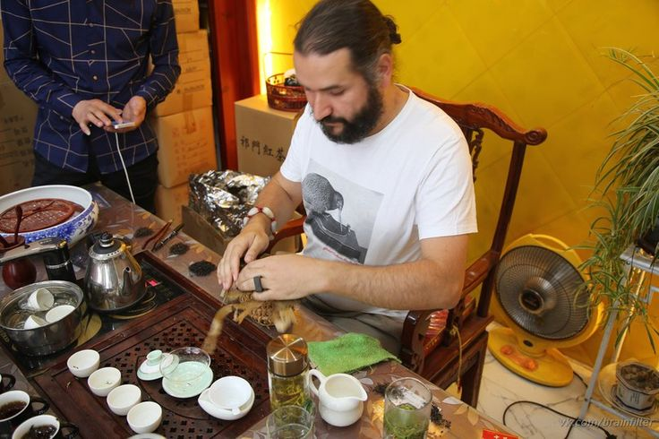 @Moychay Tea master.