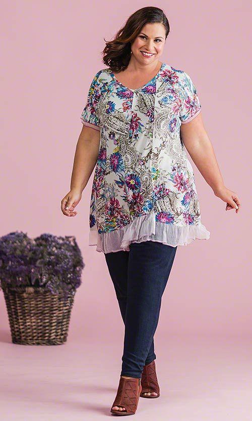 Covent Garden Tunic MiB Plus Size Fashion For Women