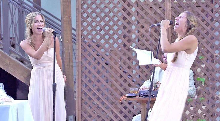 Sisters Of The Bride Give The Greatest Wedding Toast Of All Time WATCH