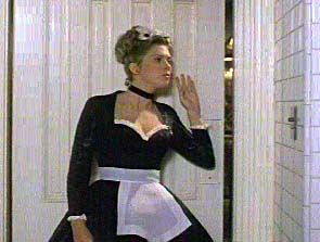 Colleen Camp as Yvette in Clue