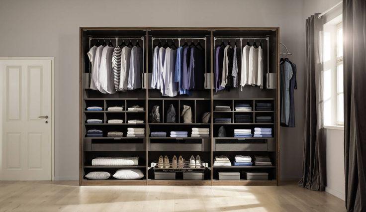 Hier passt alles rein. Nur keine Unordnung. Tipps Ordnung im Kleiderschrank - Nolte Möbel