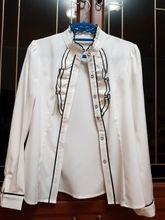 Tienda Online 2017 mujeres del Resorte de manga larga camisa de la manera ropa delgada elegante de color sólido soporte de cuello de volantes blusa plus size oficina tops | Aliexpress móvil